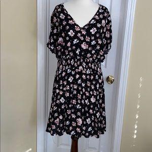 Junior's American Rag Smocked Waist Dress